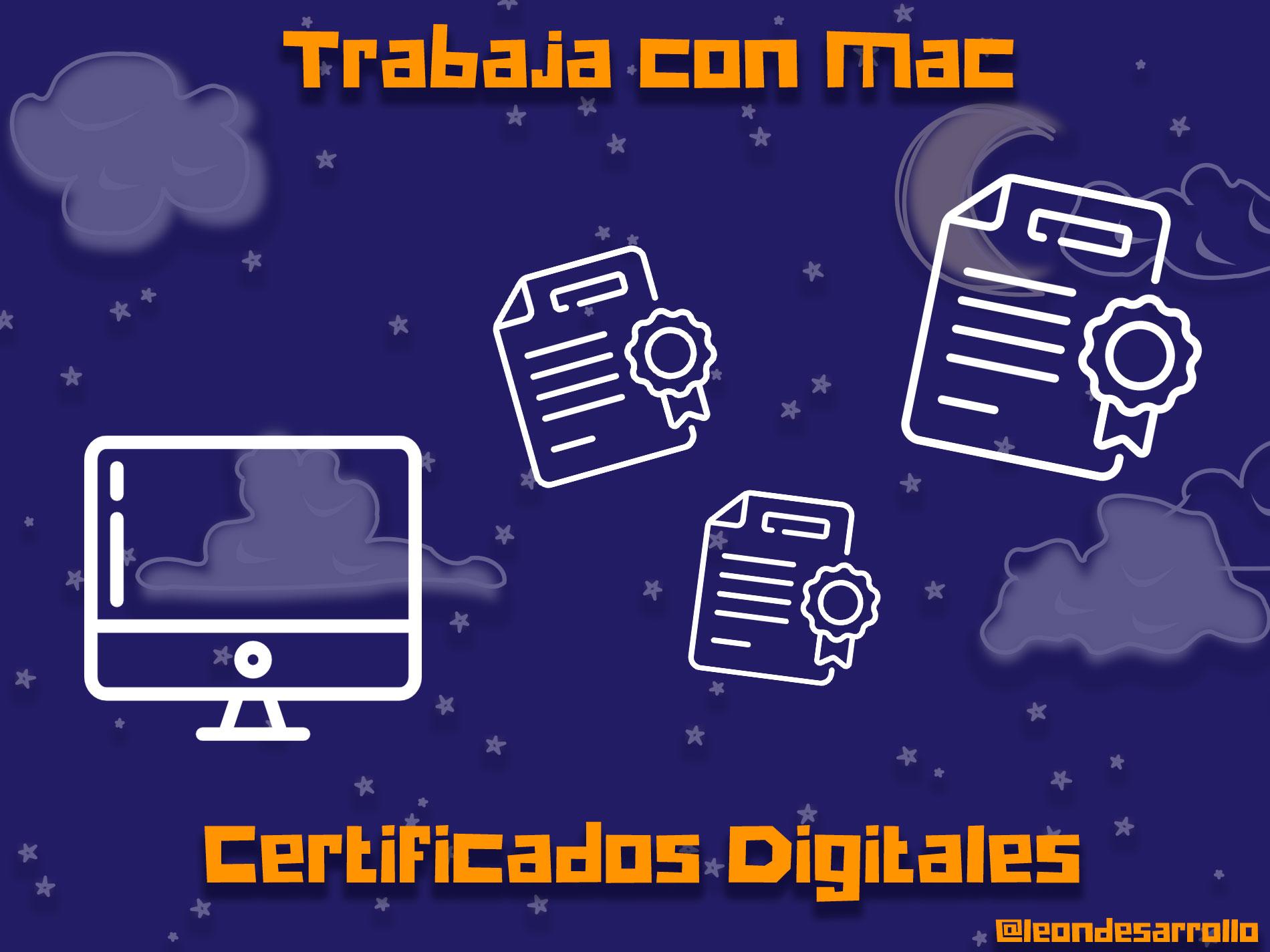 No funciona el certificado digital en Mac
